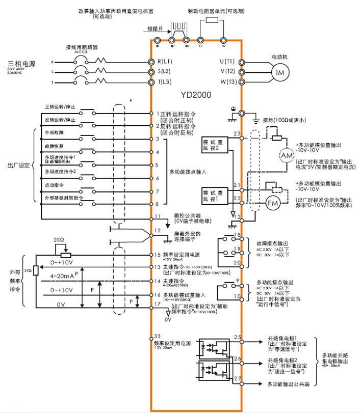 产品接线图